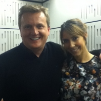Aled and Alex Jones for 'BBC Radio Wales'.