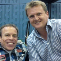 Aled and Warwick Davis for 'BBC Radio Wales'.