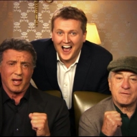 Aled and Sylvester Stallone and Robert DeNiro for 'Daybreak'.