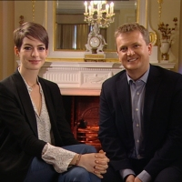 Aled and Anne Hathaway for 'Daybreak'.