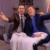 Aled and Michael Buble for 'Daybreak'.