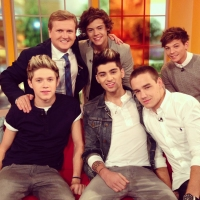 Aled and 'One Direction' for 'Daybreak'.