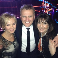 Aled with Lisa Maxwell and Jane MacDonald at 'The National Television Awards'.