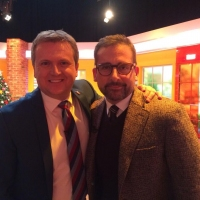Aled and Steve Carrell on 'Daybreak',