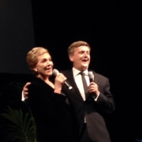 Aled with Dame Julie Andrews - London, 2014.