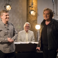 Aled with Engelbert Humperdinck and Laurie Holloway for 'Weekend'.