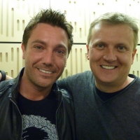Aled and Gino DeCampo for 'BBC Radio Wales'.
