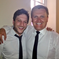 Aled and Matt Cardle - Sheffield.