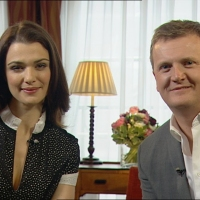 Aled and Rachel Weisz for 'Daybreak'.