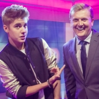 Aled with Justin Bieber for 'Daybreak'.