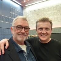 Aled and Martin Shaw for 'BBC Radio Wales'.