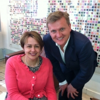 Aled and Tanni Grey-Thompson for 'BBC Radio 2'.