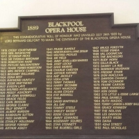 The Roll of Honour at Blackpool Winter Gardens - what a line up! Proud to be up there too!