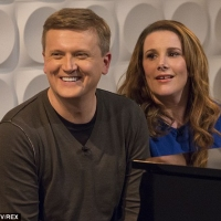 Aled and Sam Bailey on 'Weekend'.